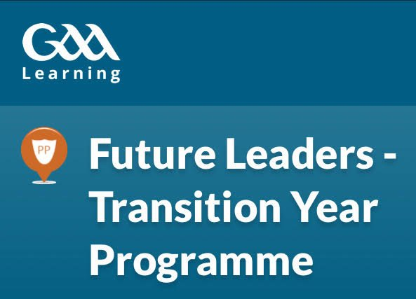 GAA Future Leaders Transition Year Programme
