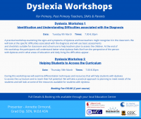 WEBINAR- Dyslexia 2- Helping Students to Access the Curriculum (P/PP) Workshop 2