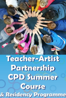 Teacher Artist Partnership- CPD for enhancing Arts Education in Ireland - ONLINE